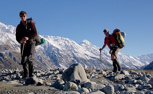 Paul and Stu with Tauroa Peak, I think, in the background