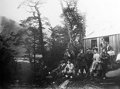 Head of Lake Te Anau, April 1895