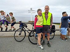 Cycling the hard way from Lands End to John O�Groats (Part One of Two)