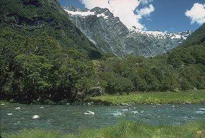 View from Wilkin Valley, South Island Christmas Trip. Photo: John Rippon