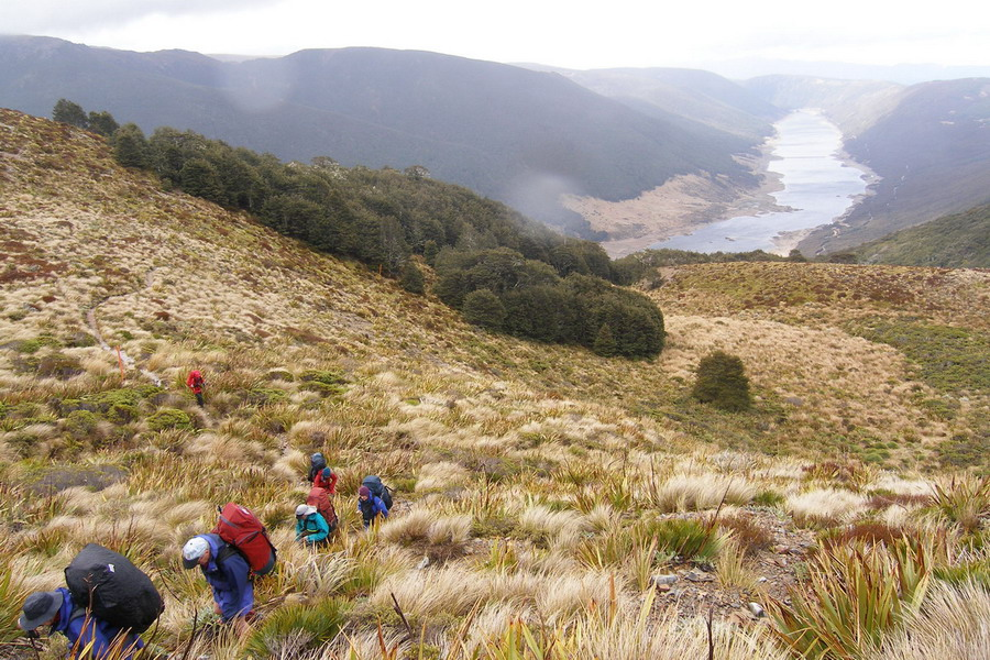 The climb to the Tablelands