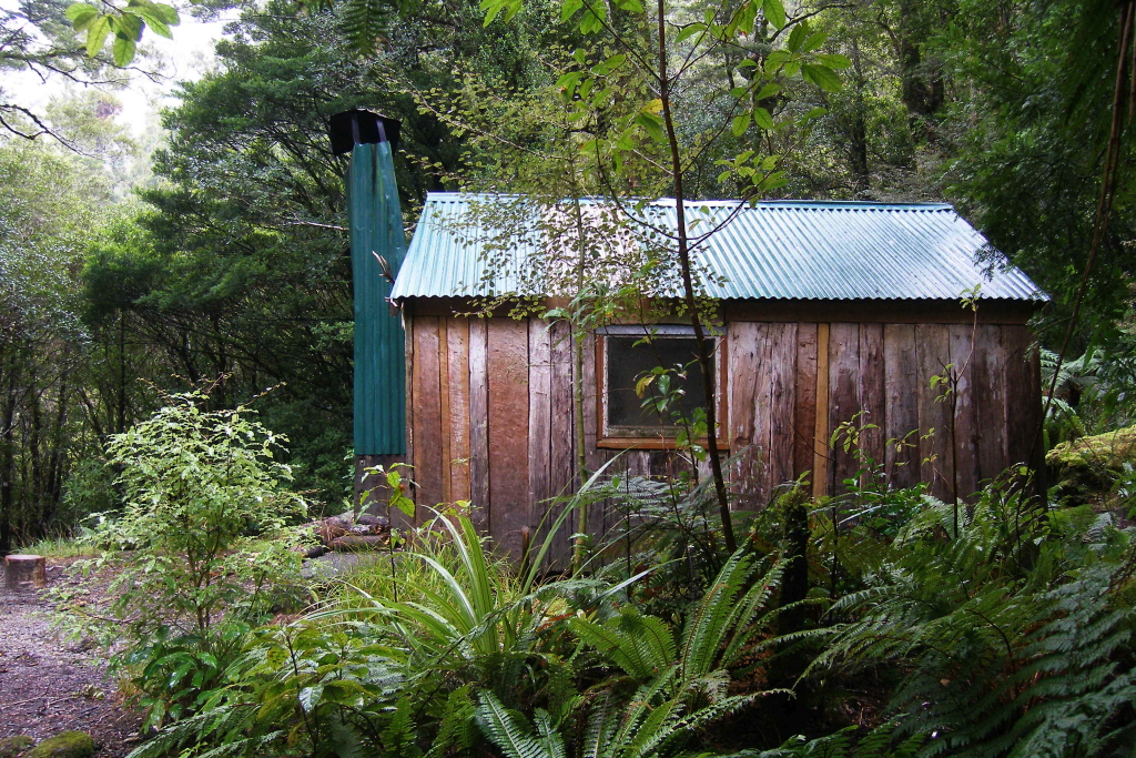 click on the photo to download the original image  Historic Cone Hut - Peter Penhall