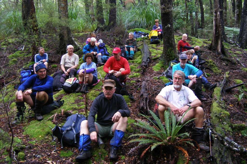 click on the photo to download the original image  Rest Stop on a historic walk - Peter Penhall