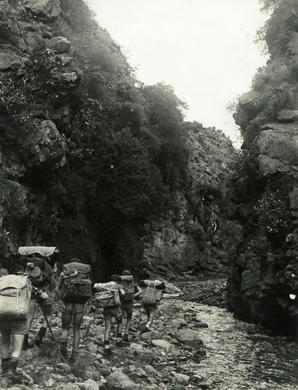 click on the photo to download the original image  HIS-TTC-PWhiteford-Hodder Gorge 1960