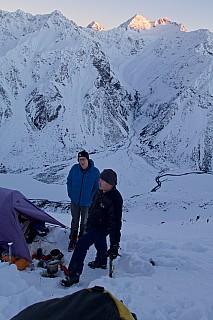 Sean and Stu in camp