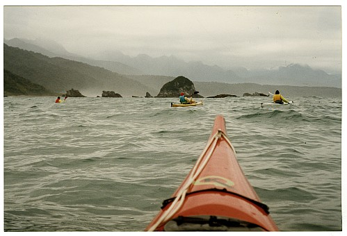 click on the photo and click again on the photo to download the original image  ttc692 Sea kayaking