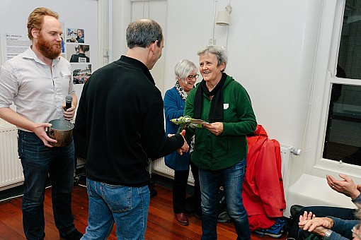 click on the photo and click again on the photo to download the original image  2019-07-03 19.54.59 Tararua Tramping Club - Centenary Book Launch-122-DigitalNinja
