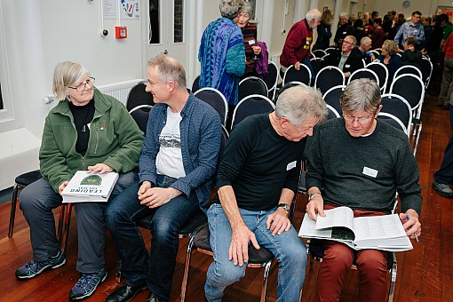 click on the photo and click again on the photo to download the original image  2019-07-03 20.08.47 Tararua Tramping Club - Centenary Book Launch-148-DigitalNinja