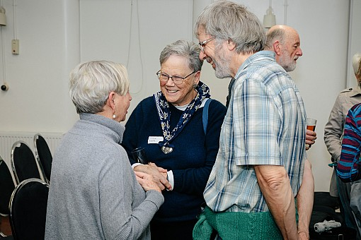 click on the photo and click again on the photo to download the original image  2019-07-03 20.23.24 Tararua Tramping Club - Centenary Book Launch-167-DigitalNinja