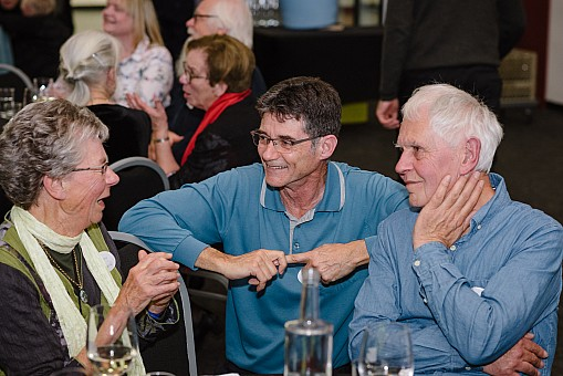 click on the photo and click again on the photo to download the original image  2019-07-06 19.23.43 Tararua Tramping Club - Centenary Dinner-090-DigitalNinja