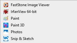 Picture Tools menu